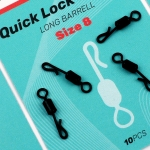 SEDO - Quick Lock Swivel Long Barel - Size 8