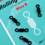 SEDO - Rolling Swivel Long Barel - Size 8