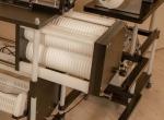 Boilie Lab Ipari gyártósor cserélhető méret block.