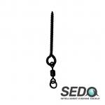 SEDO Long Fast Bait Screw with Swivel Size XL 18mm